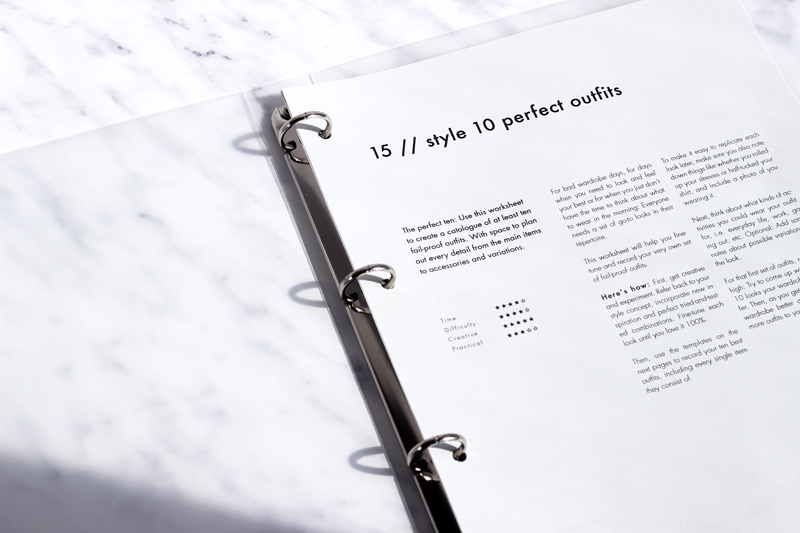 'Personal Style & The Perfect Wardrobe // A Workbook' by INTO MIND