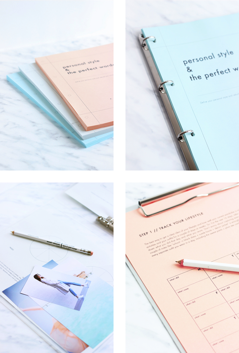 """Now available: """"Personal Style & The Perfect Wardrobe // A Workbook"""""""