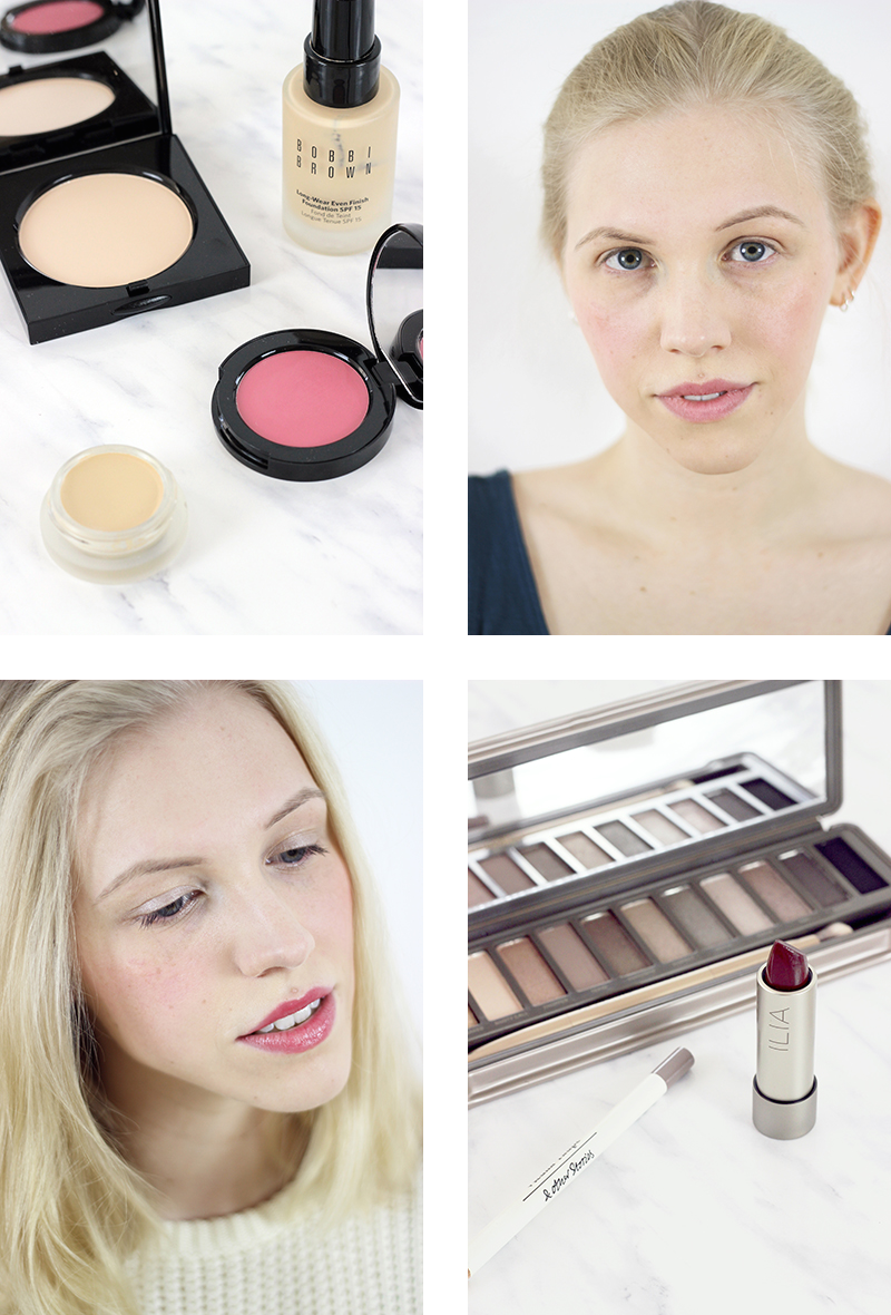 10-piece make up kit + go-to looks