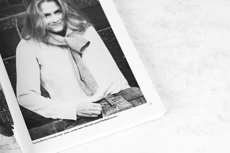 """Lauren Hutton 