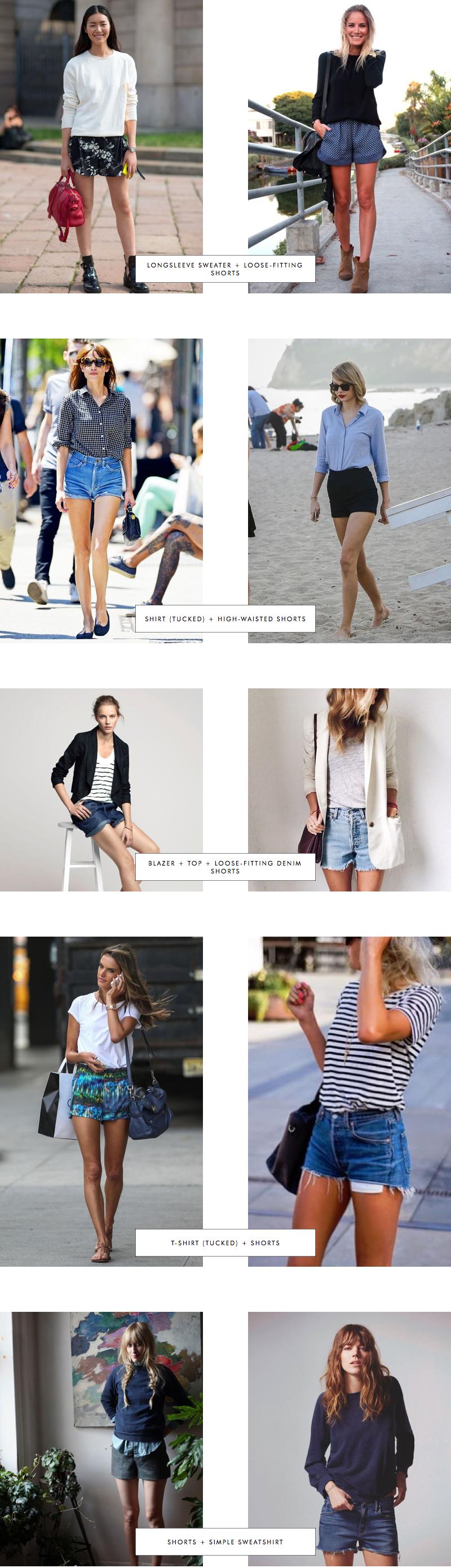 Proportions Catalogue Spring Edition: Shorts