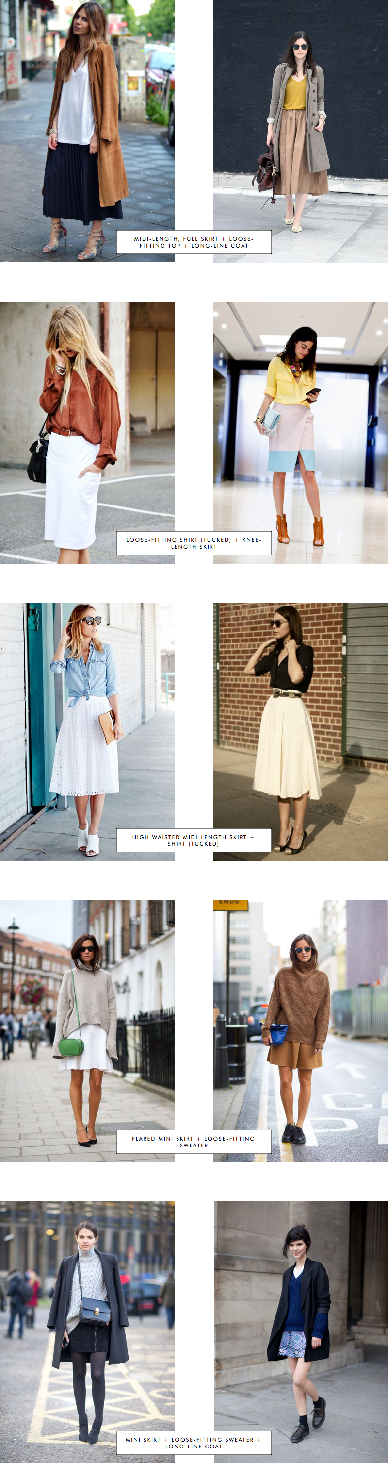 Proportions Catalogue Spring Edition: Skirts Part 2