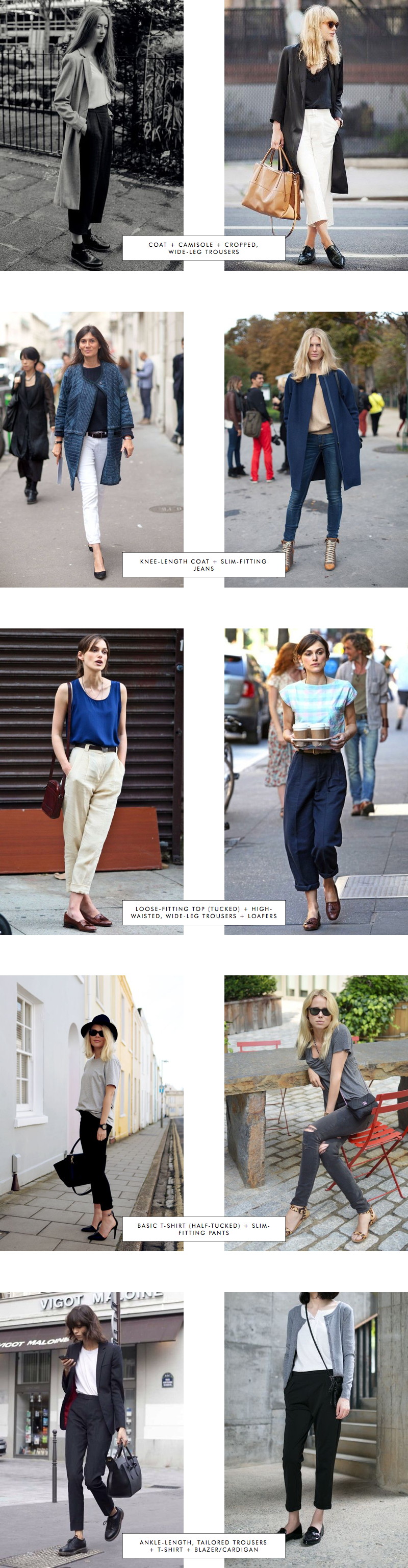 Proportions Catalogue Spring Edition: Trousers Part 1