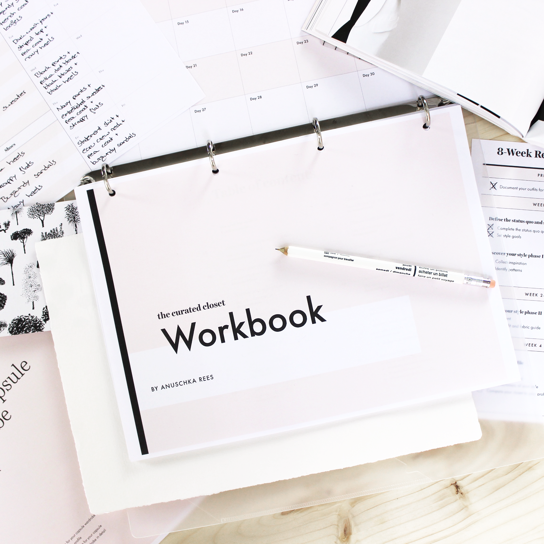 The Curated Closet Workbook