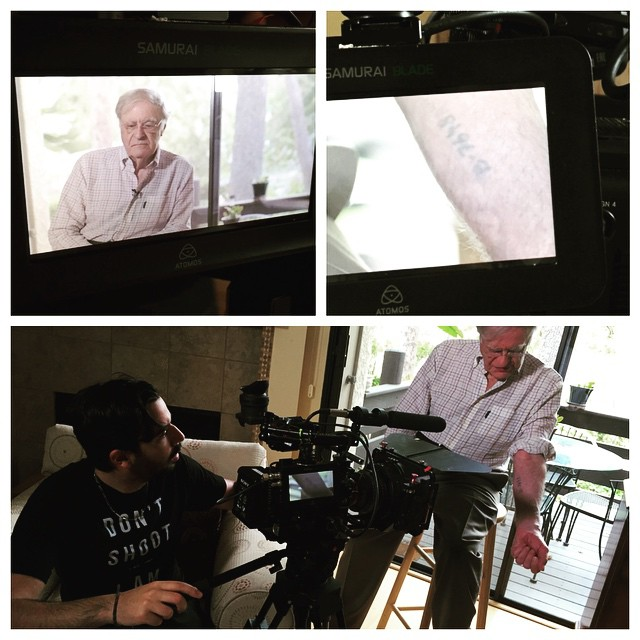 it's not everyday that you come across an interview that really impacts you today was that day. We had the honor and privilege of interviewing Dr. Henry Oster, a Holocaust survivor, who not only shared his incredible story of survival, but his tattoo that was forced on him by the Nazis when he was 16 years old. Our documentary is more than just cool tattoos and designs its about communicate our experiences, thoughts and wishes to the world on our skin. We all have something to say.  #holocaust #holocaustsurvivor #holocausttattoo #underneaththeink #tattoo #tattoos #ink #inked #tattoolife