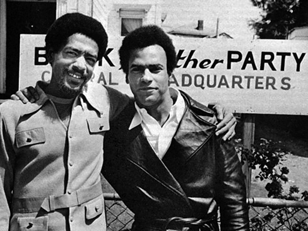 Bobbe Seale and Huey Newton