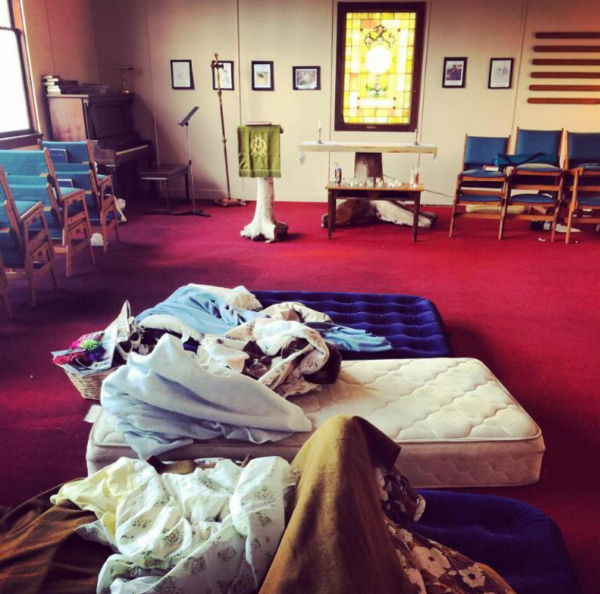 Photo: Chaplains on the Harbor Winter Shelter