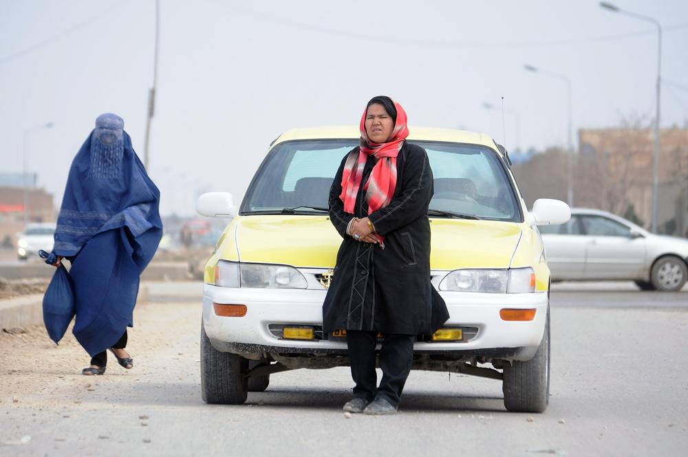 via.  (AP Photo/Mustafa Najafizada)