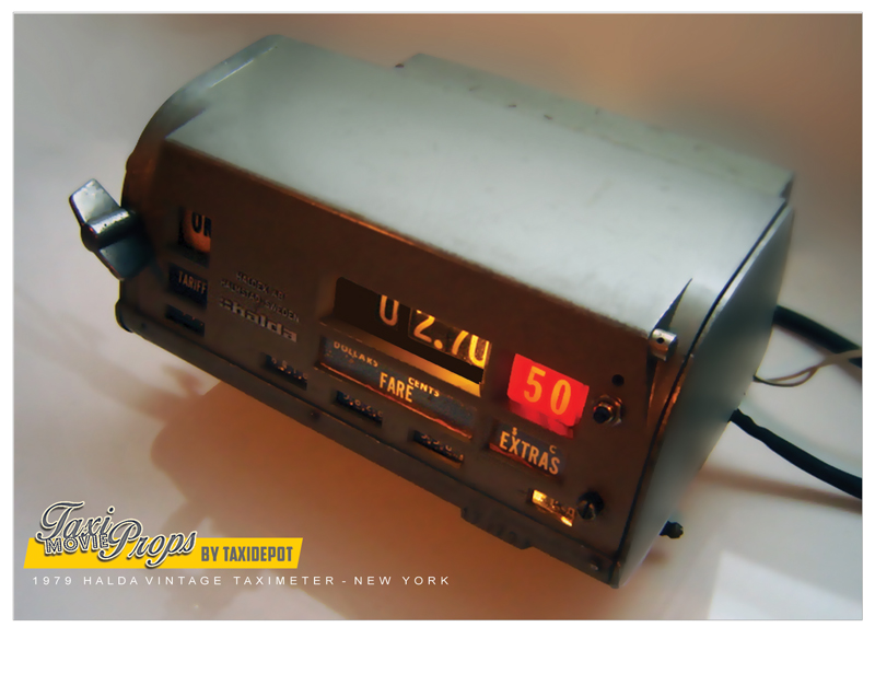 Mechanical Vintage taximeter4 Taxidepot
