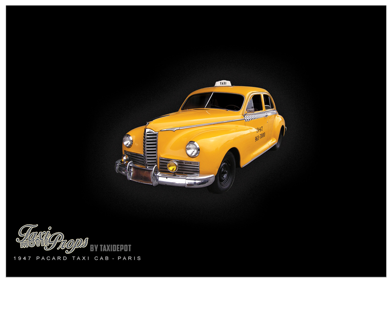 Vintage Taxicab Taxidepot