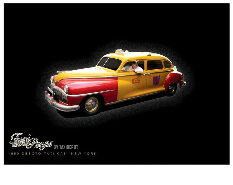 Desoto Taxi Cab New York