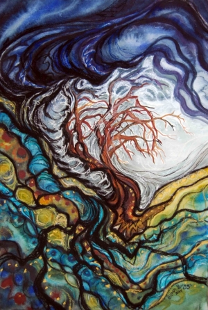 """""""Holding onto the Light"""" -- Colleen Briggs*"""