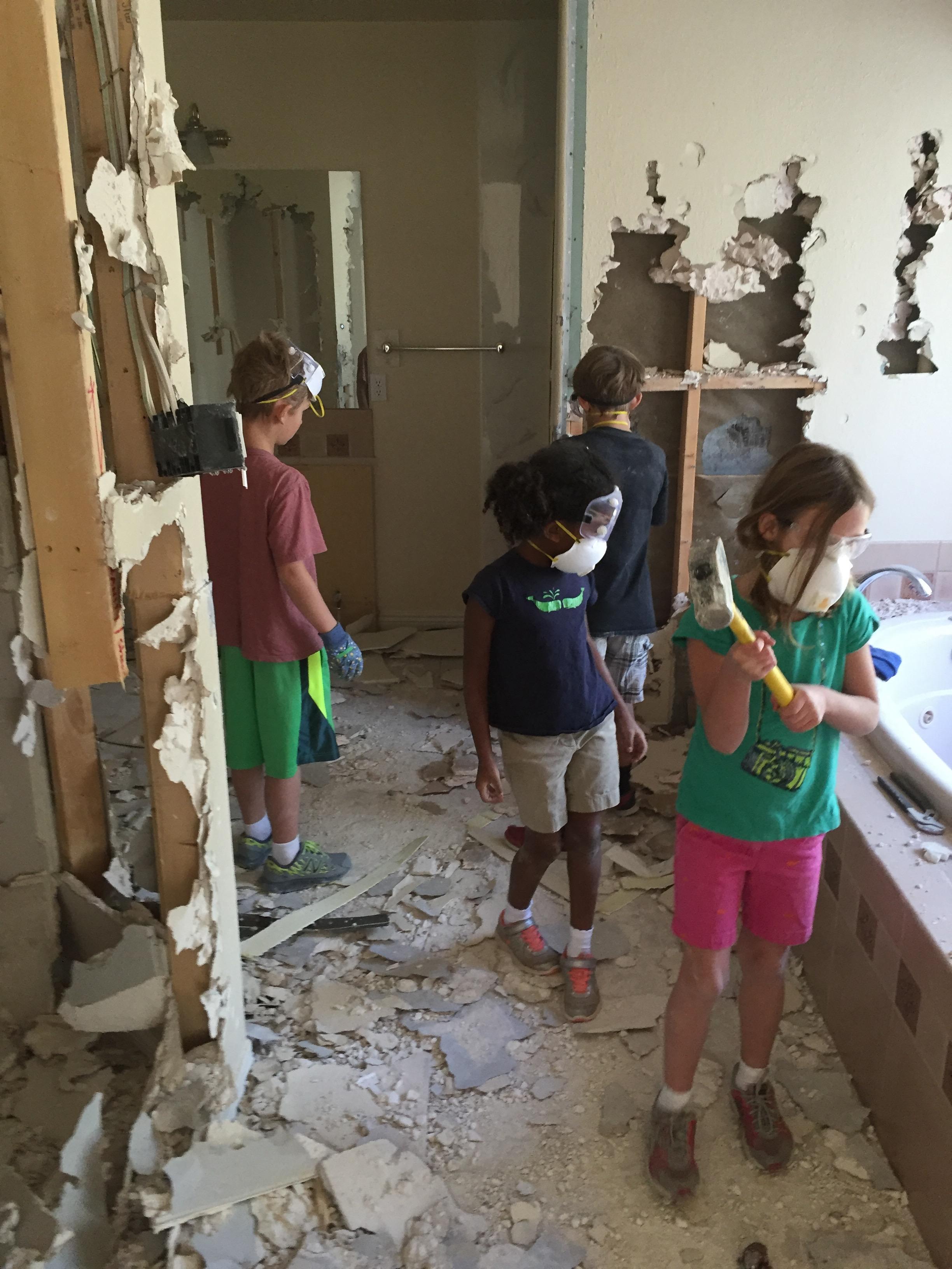 the demolition days.
