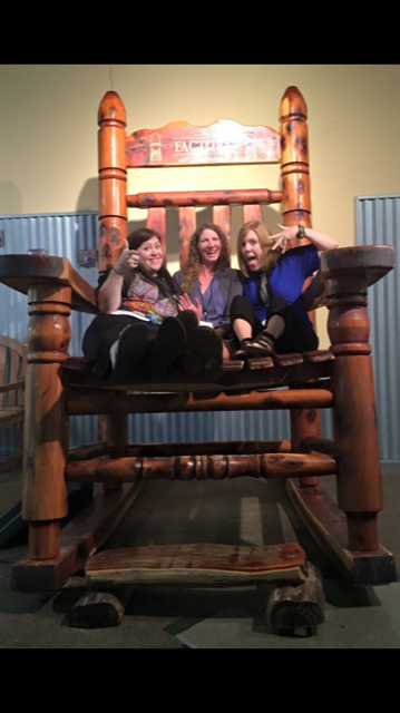 Having a rockin' good time at jeff goins' tribe writers conference in Nashville, TN. Honey I shrunk the bloggers. ;)