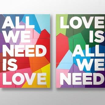SPREAD LOVE:  Show it, feel it, be it. #spreadlove