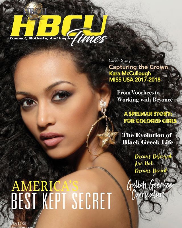 Kara McCullough - America's Best Kept Secret 💫💫💫 #CapturingTheCrown #COVERstory #MissUSA #karamccullough