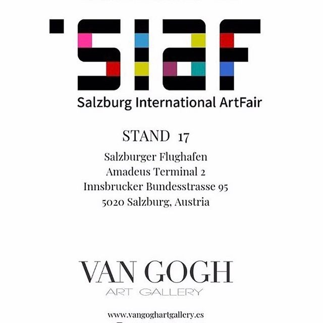 Very thrilled to participate this week in the Salzburg International Art Fair in Salzburg, Austria! Thanks so much @vangoghartgallery for representing me and making this possible. . .  #vangoghartgallery #abstractart #kunst #artgallery #salzburginternationalartfair #emergingartists #galeriadart #salondearte #arte #art #contemporaryart #modernart #originalart #artcollection #artfair #internationalartgallery #internationalartists #artshow #austrianmarket #artevent