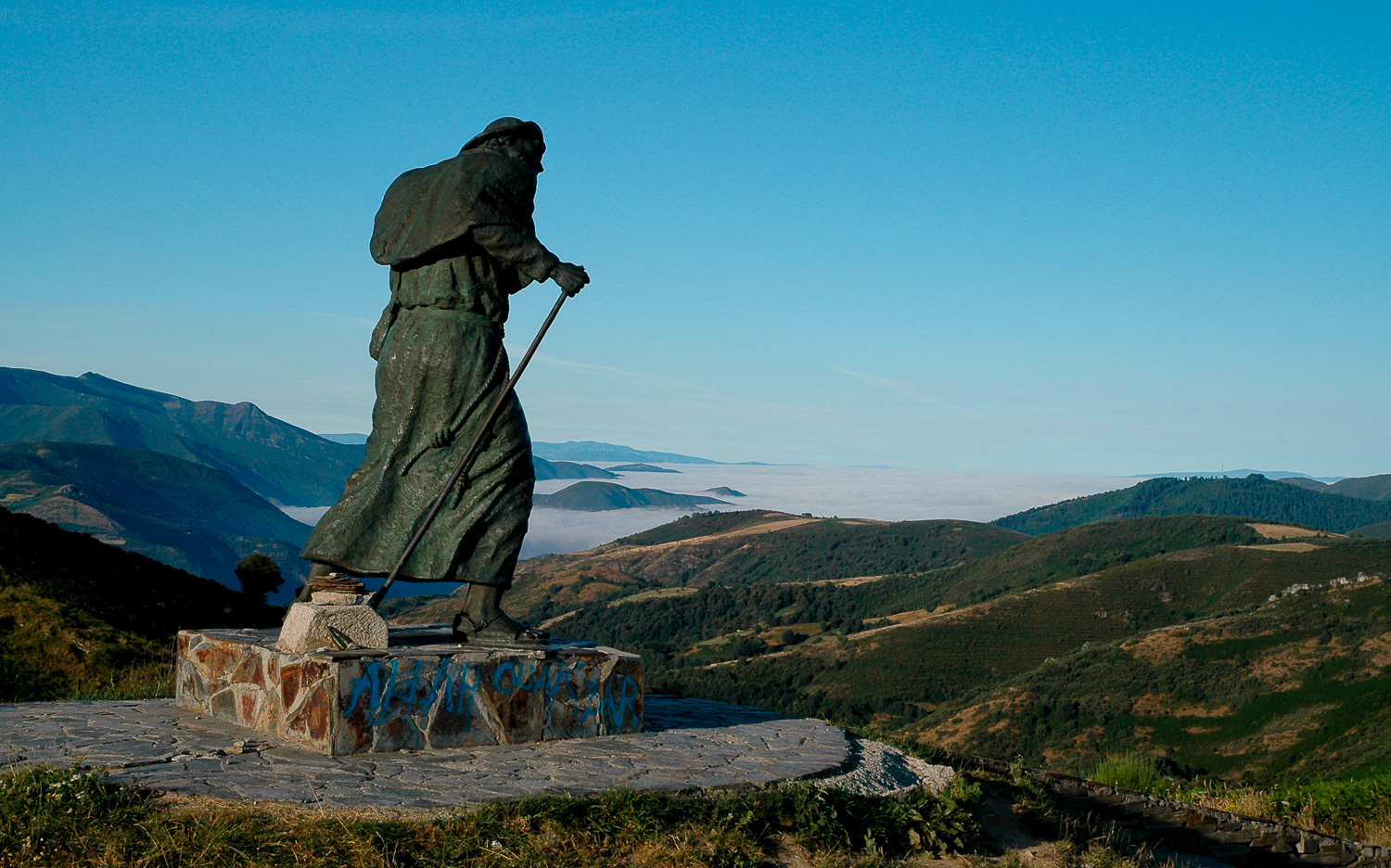 """Saint James on the Camino de Santiago"", Spain, 2005"