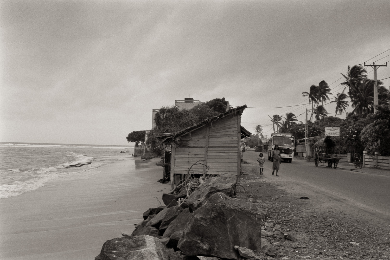 """Galle Road, Hikkaduwa"", Sri Lanka, 1992"
