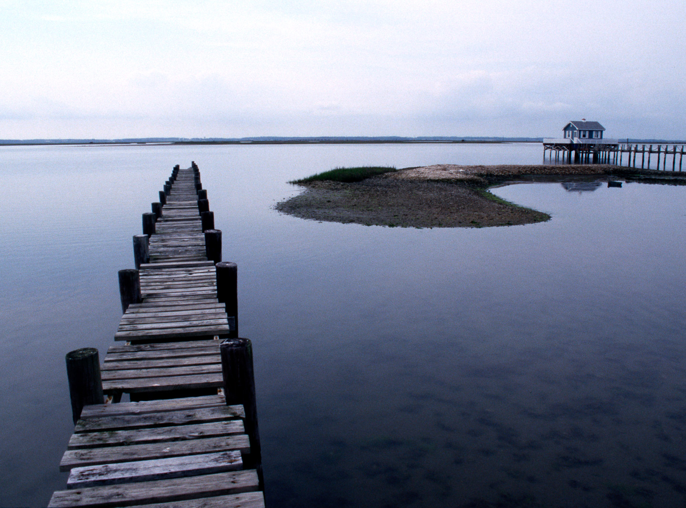 """Abandoned Dock"", Cincoteague, VA, 2002"