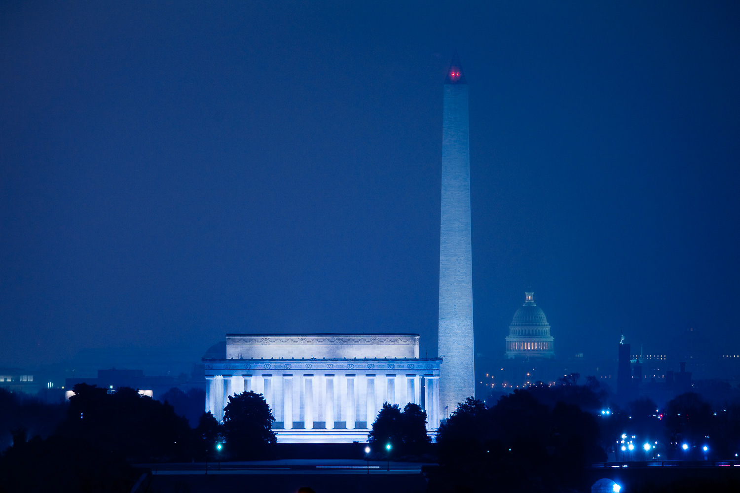"""Winter's Night, DC"", Washington, DC, 2009"