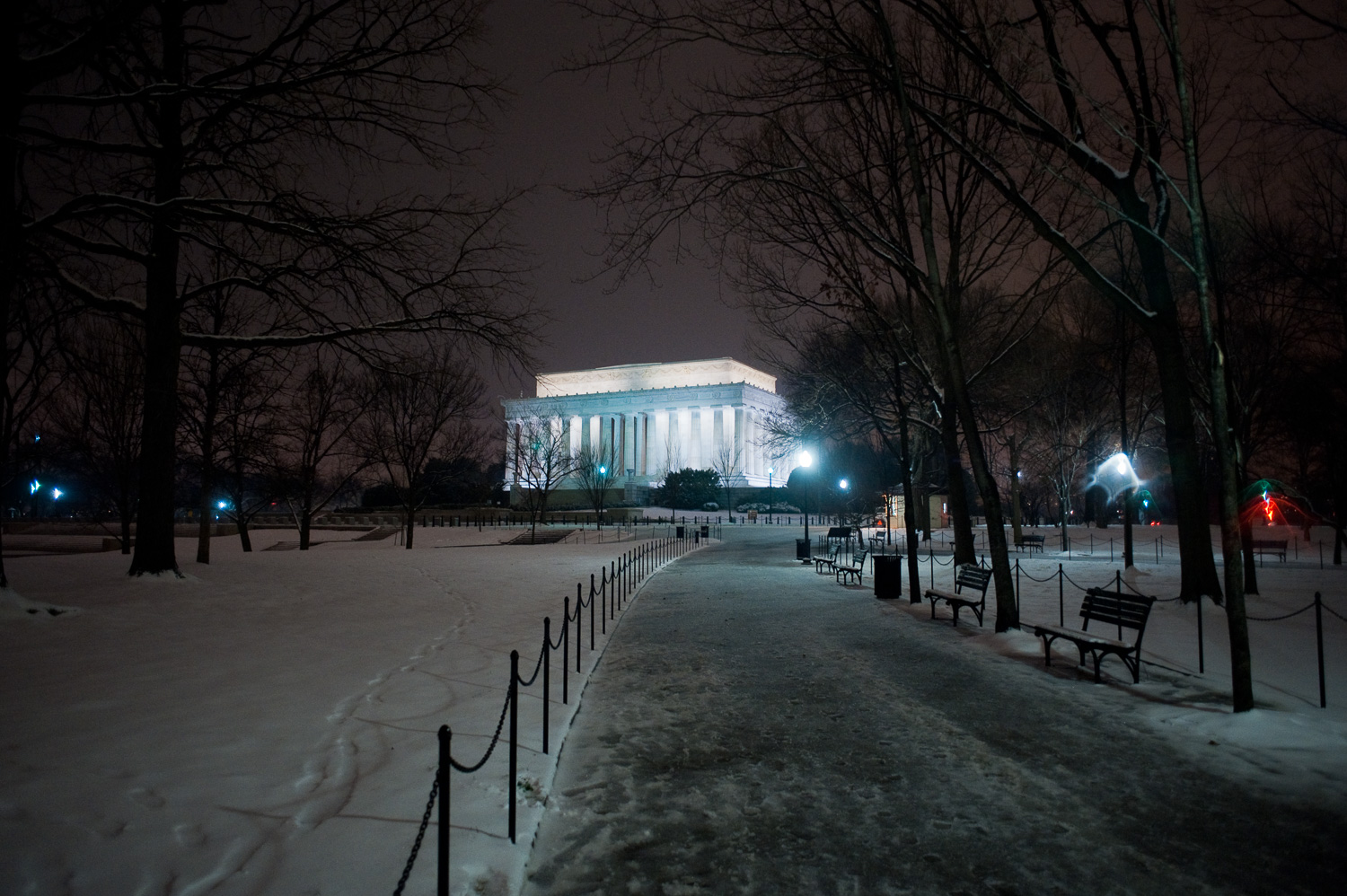 """Lincoln Memorial"", Washington, DC, 2009"