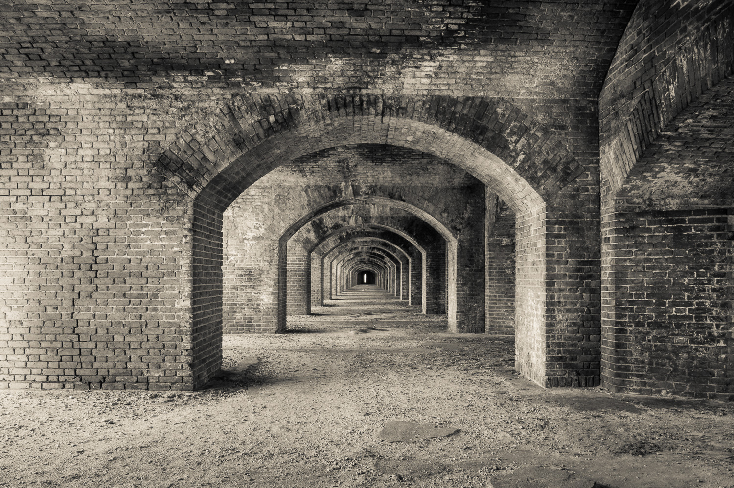 """Arches"", Fort Jefferson, Dry Tortugas, 2013"