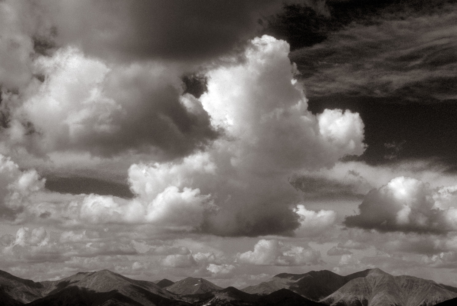 High Clouds, The Colorado Trail, 2001