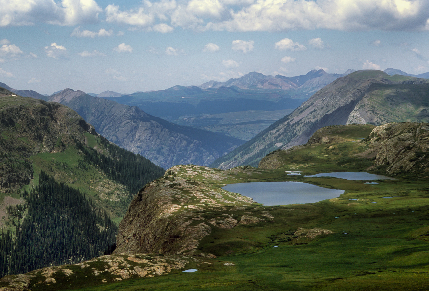 """Alpine Lakes"", Colorado Trail, 2001"