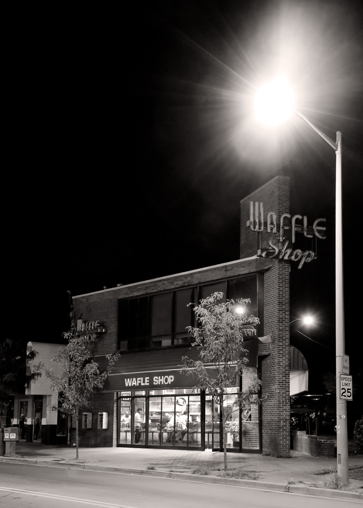 """The Wafle Shop"" Chirilagua, Alexandria, VA, 2008"