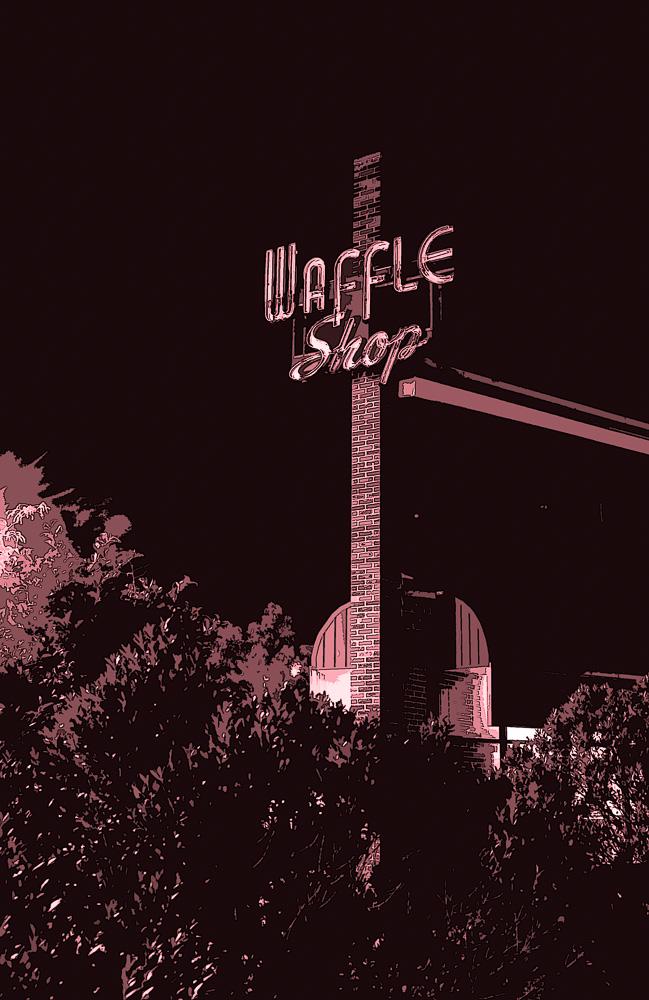 """The Wafle Shop"", Chirilagua, Alexandria, VA, 2008"