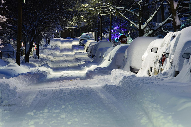 Winter's Night, Alexandria, VA, 2009