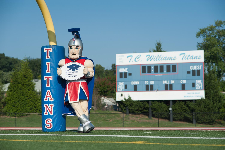 """""""Tony the Titan for the SFA"""", 2012"""
