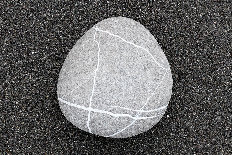 """""""Striated Stone"""", The Lost Coast, CA, 2014"""