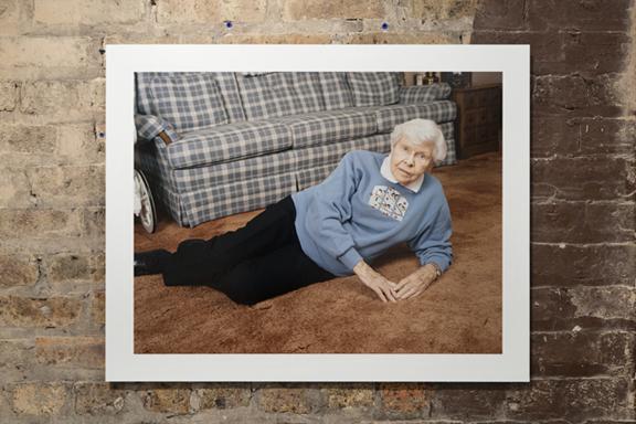 Tony Favarula, Grandma , 2010. Pigment print 24 x 30 inches