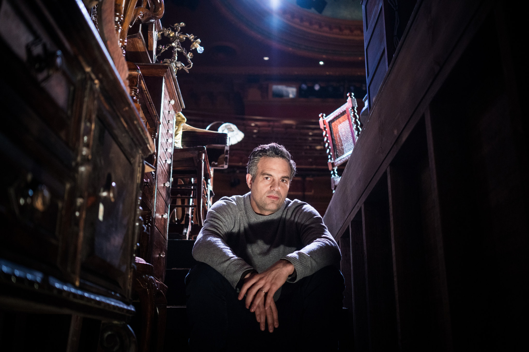 Mark Ruffalo at the American Airlines Theater. CreditDamon Winter/The New York Times