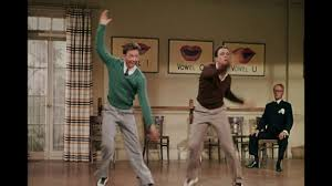 """Donald O'Connor & Gene Kelly in """"Singing in the Rain"""""""