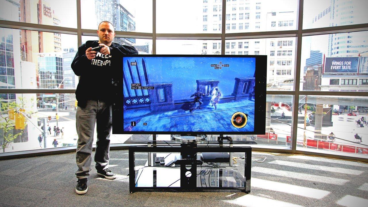 That's a big tv.