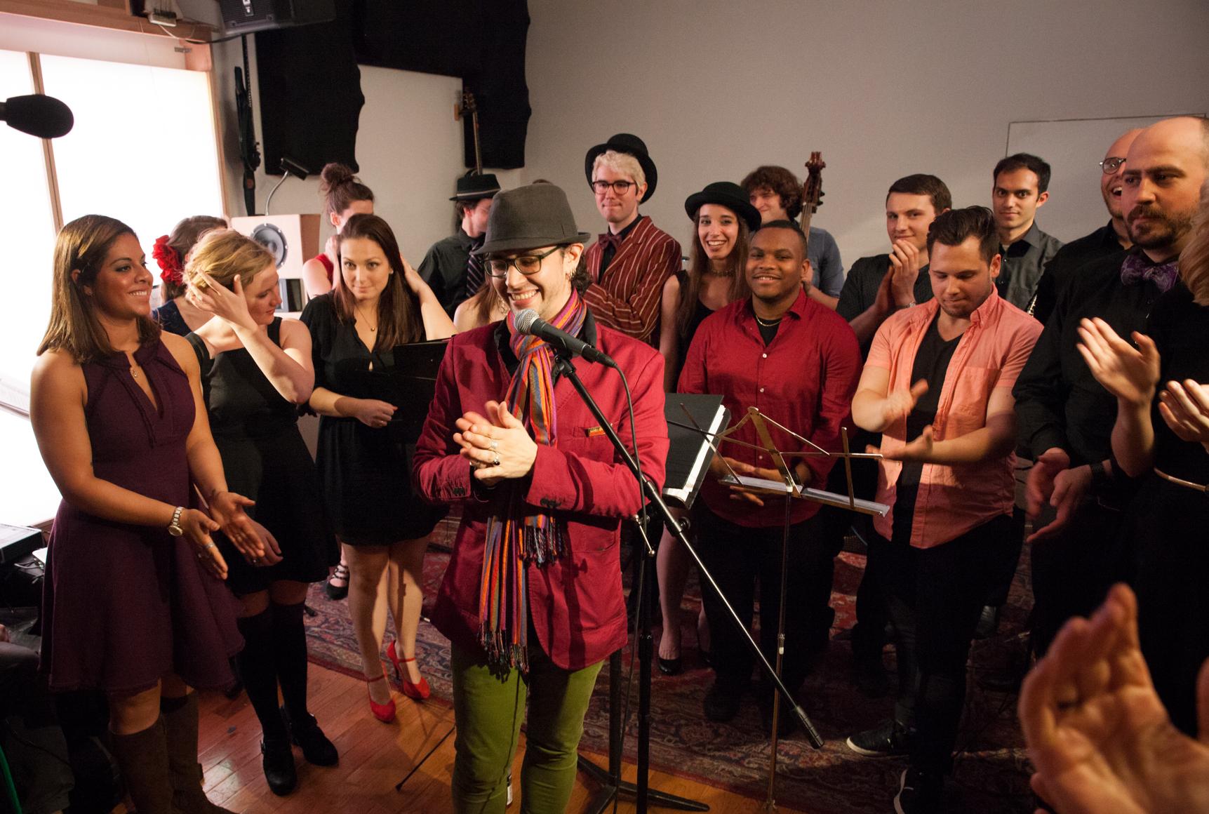 Christian De Gré at his residency concert at Spectrum New York-2015