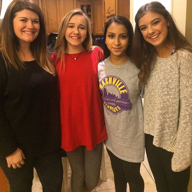 Gorgeous 7th grade girls- inside and out! Makeovers at a sleepover- hard to beat! ❤️❤️❤️