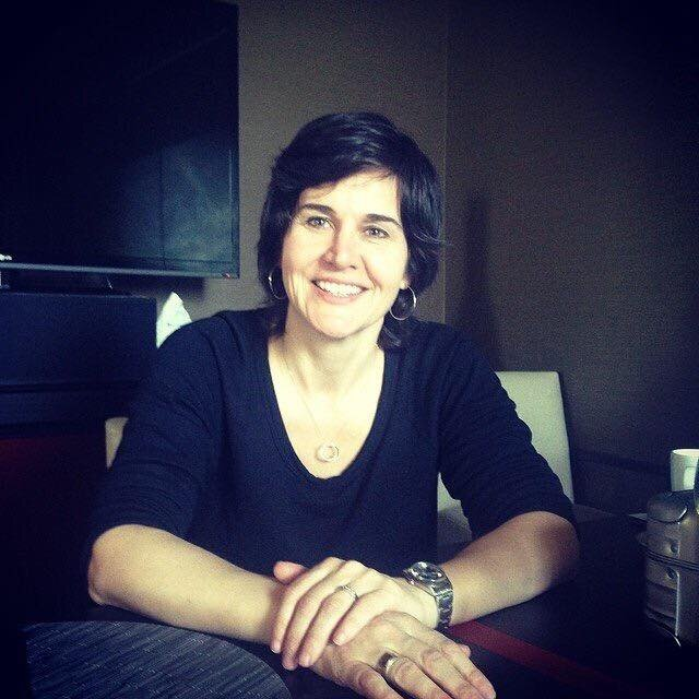 Patricia Jones - Captain Menu Hunter, Publisher of Taste Mag, at Aura in Victoria