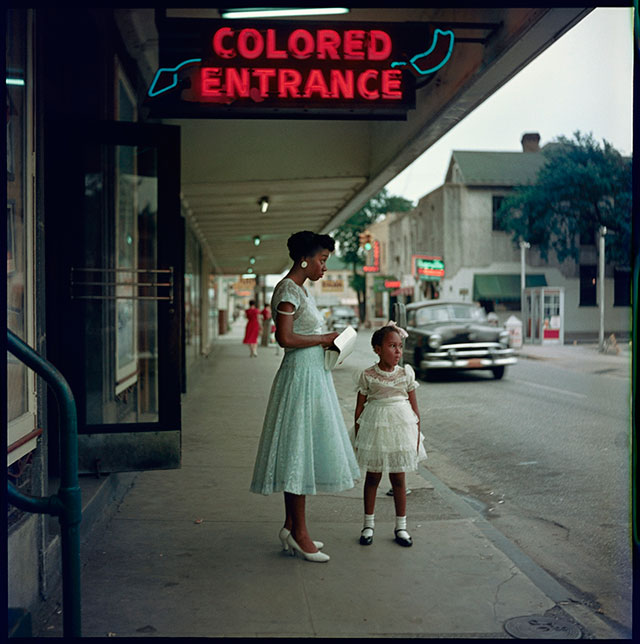 Department Store, Mobile, Alabama, 1956.   Courtesy of Jackson Fine Art, Atlanta and Arnika Dawkins Gallery. © The Gordon Parks Foundation
