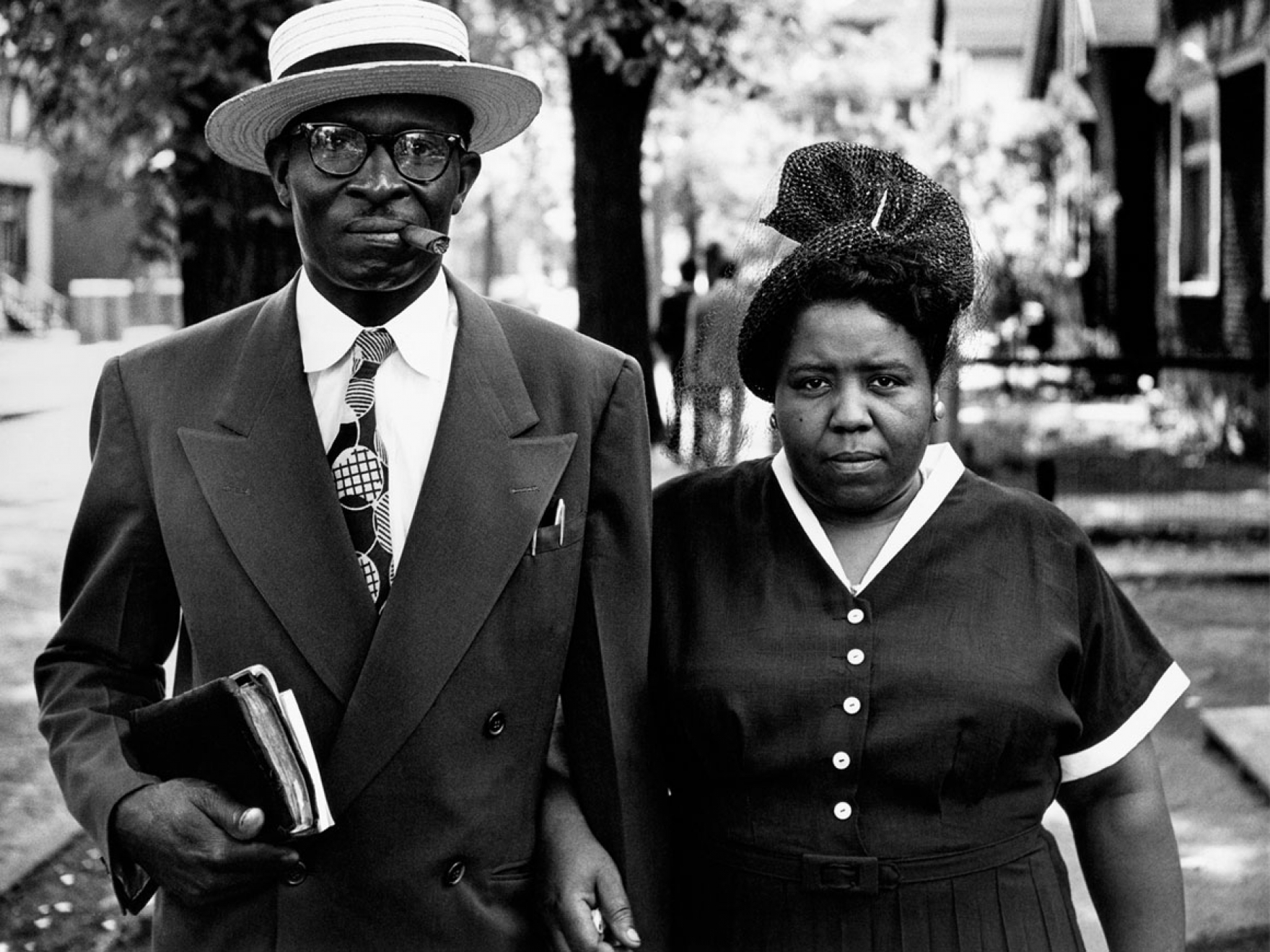 Husband and Wife, Sunday Morning, Detroit, Michigan, 1950. Courtesy of and copyright The Gordon Parks Foundation.