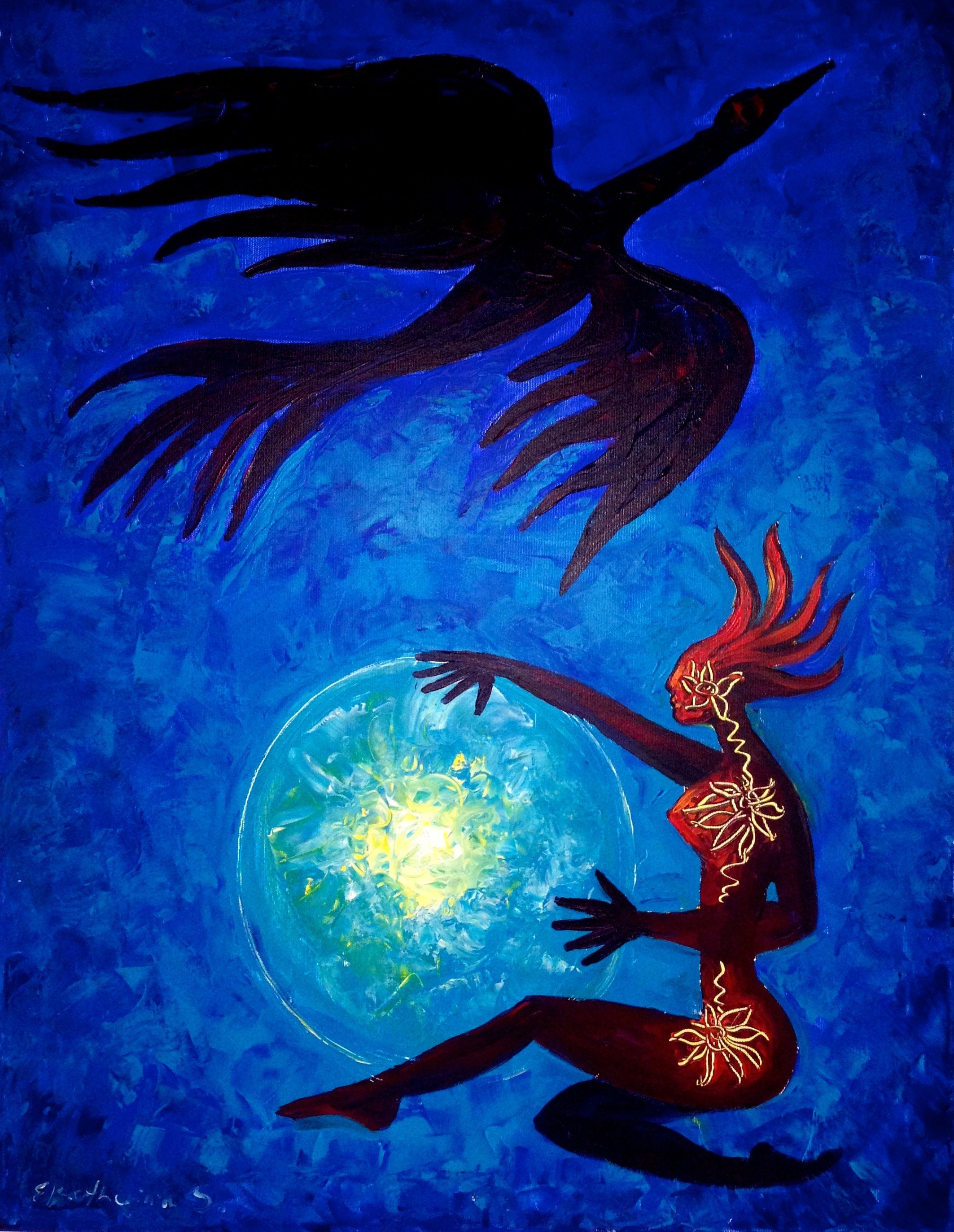 Swan Blue