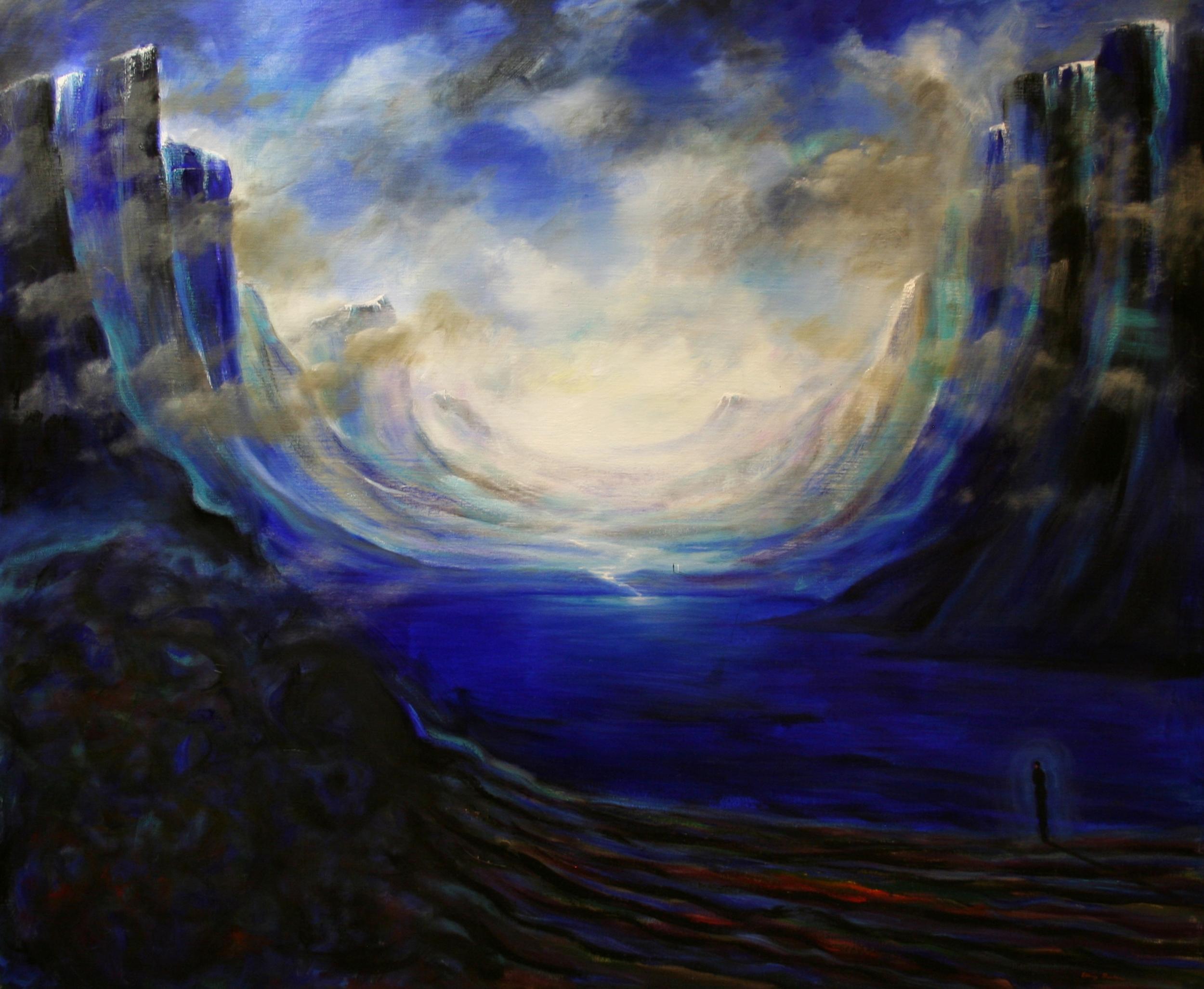Nordic Noir 100 x 120 cm Oil on Canvas