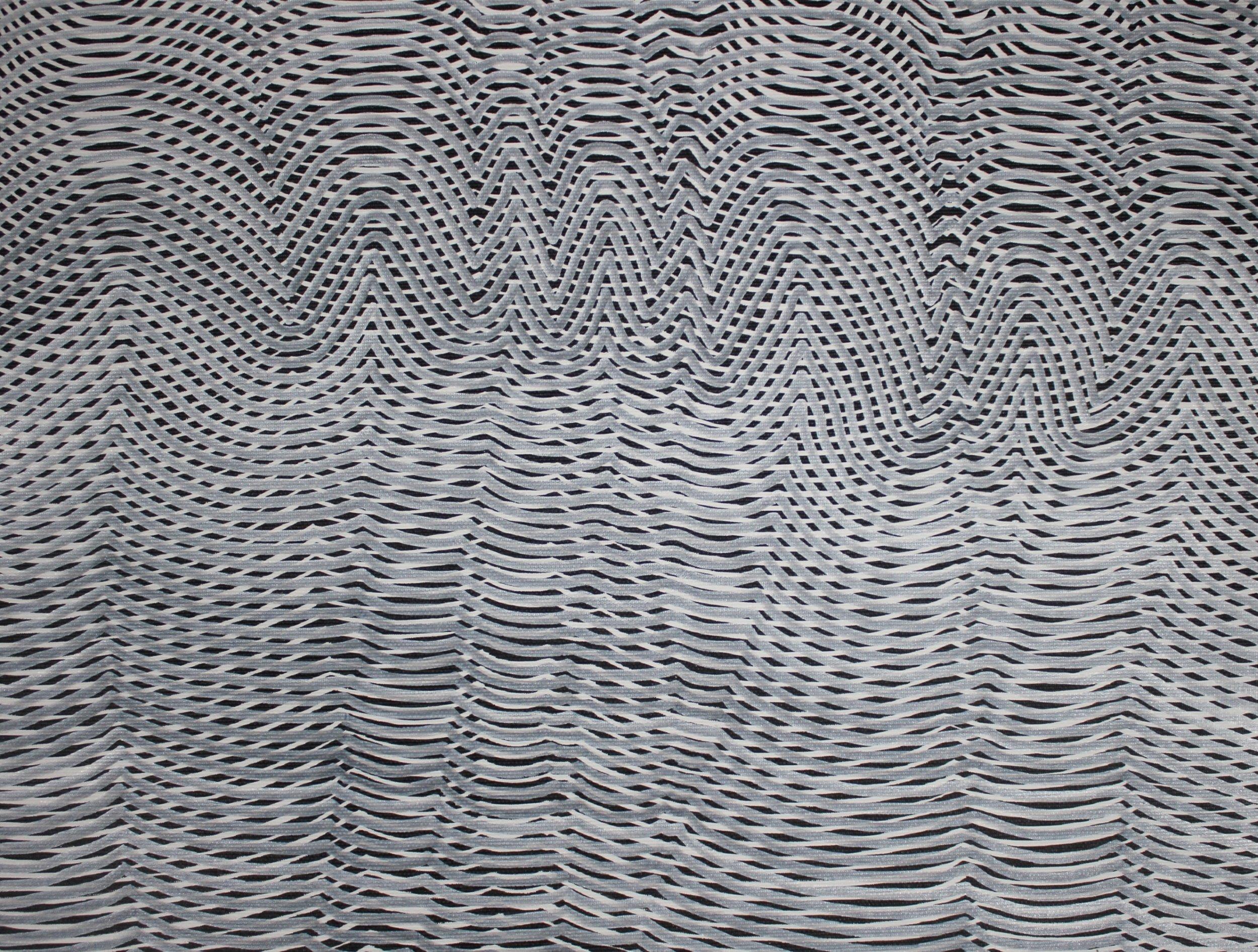 Lines 48  Varnish on Canvas  30cm x 40cm