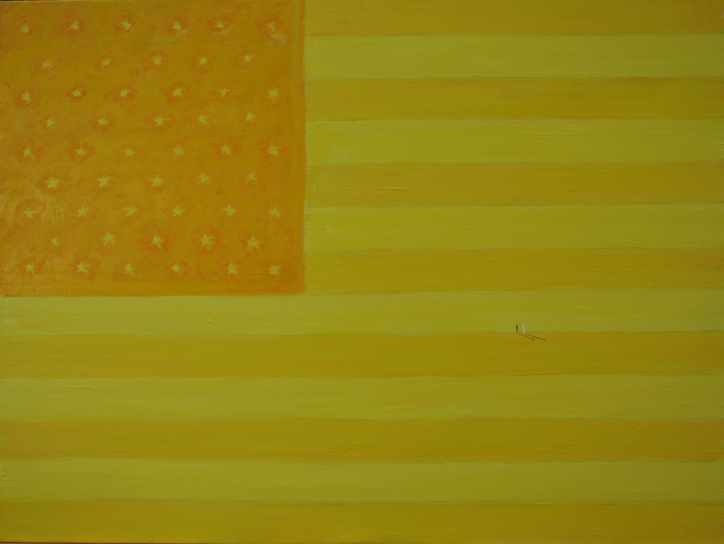 Yellow Flag, 75x100cm(1).JPG