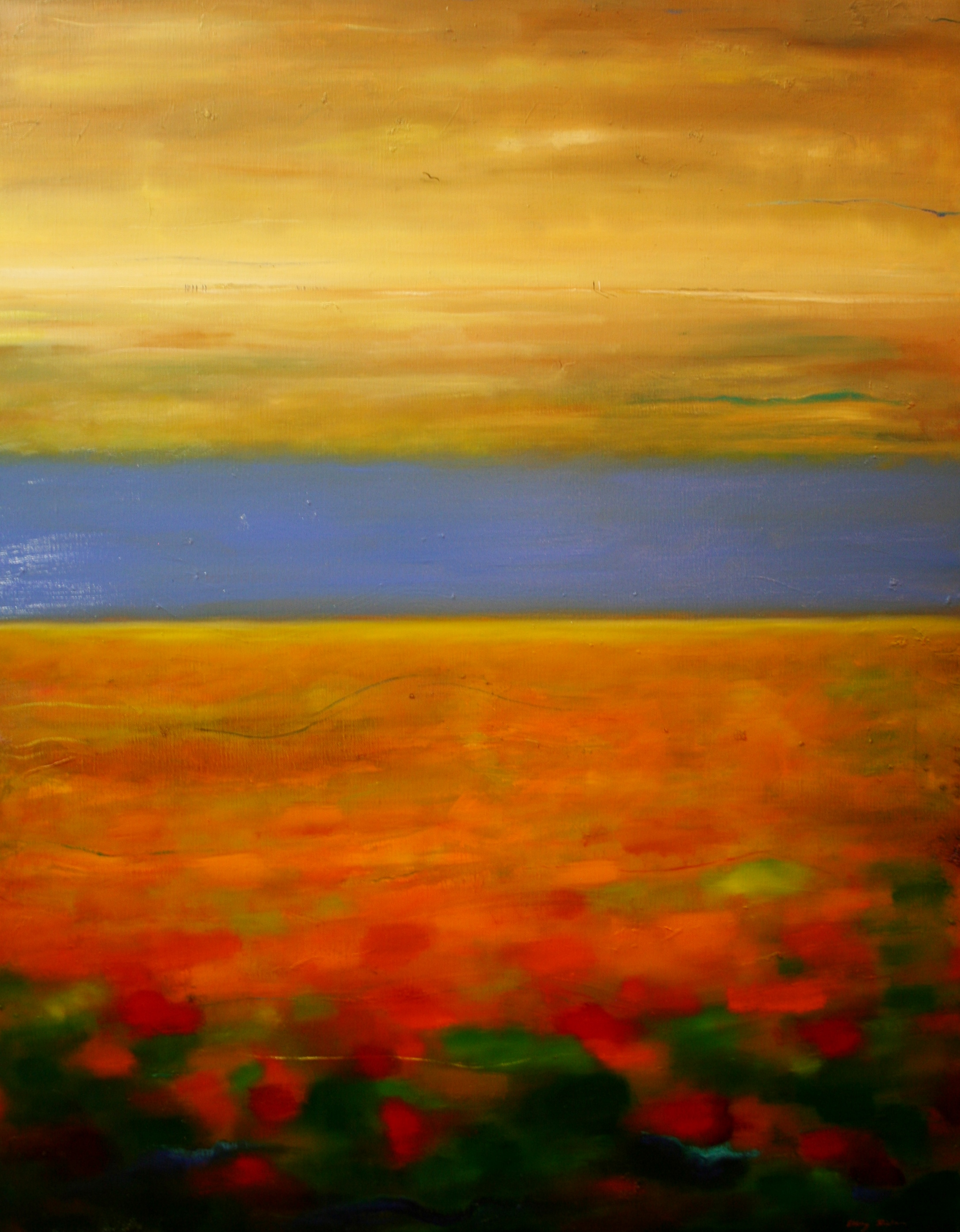 Elling Horizone of light, oil 100x80cm.JPG