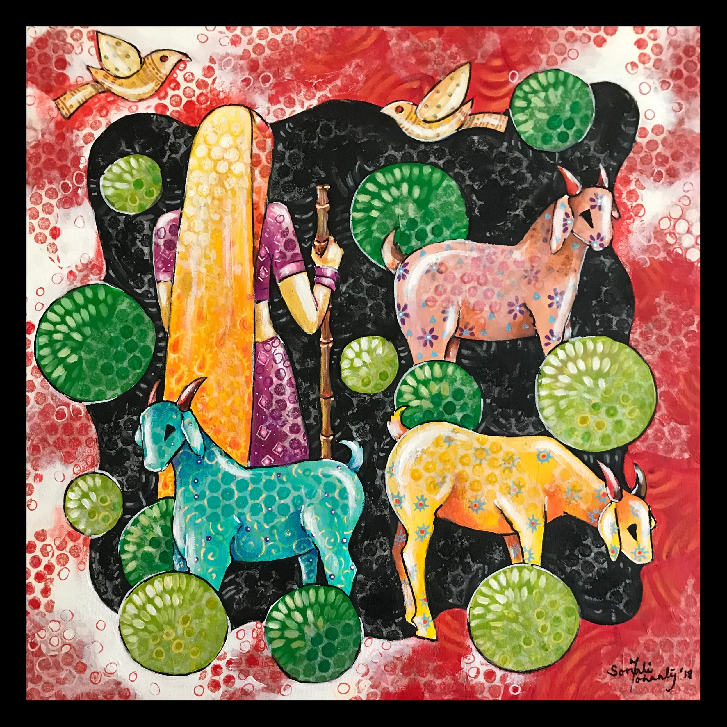 Trip (Trip of goats)_20inX20in.png