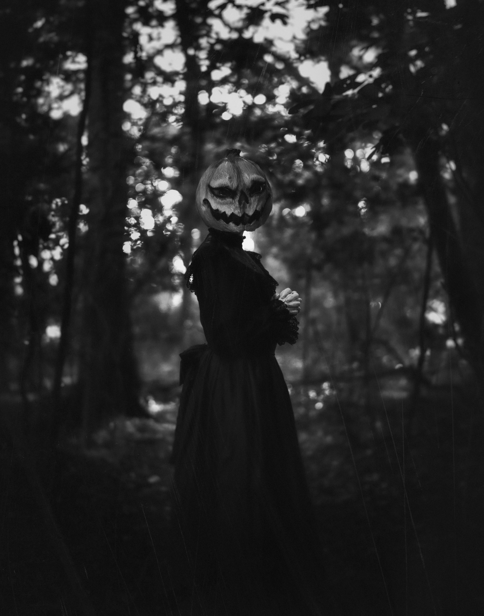 pumpkinmaskselfportrait